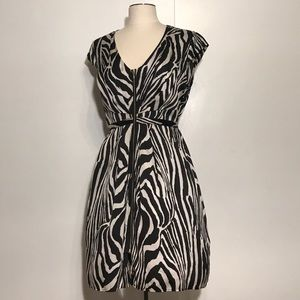H&M Zebra Print Dress NWT